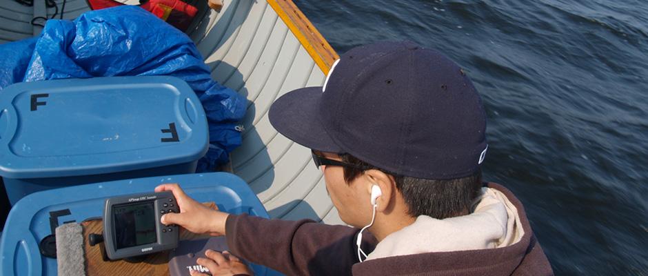 Investigación en área protegida marítima
