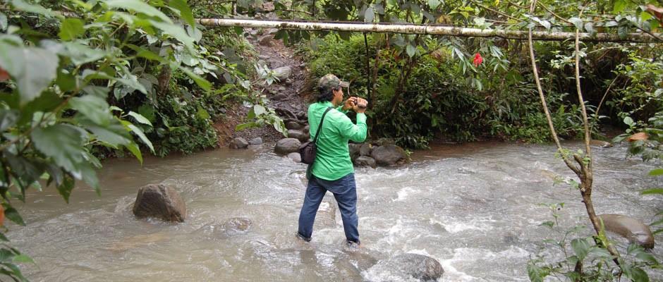 Capacitación en vídeo participativo, Playita, Panamá