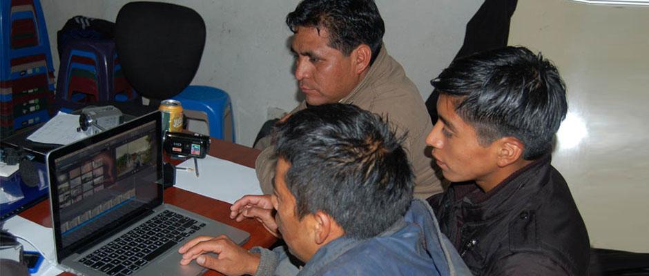 Taller de vídeo participativo - San Miguel Ixtahuacán, Guatemala
