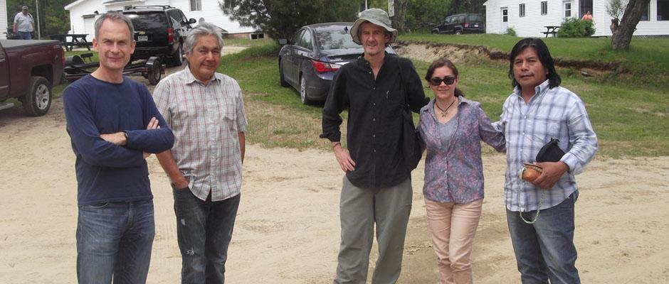 Rencontre pour le projet d'INSTEAD dans la communauté algonquine du Lac Barrière