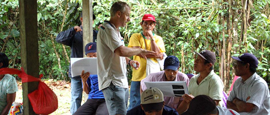 Atelier sur un atlas communautaire, Playita, Panama