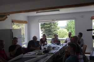 Wemindji partner meeting.