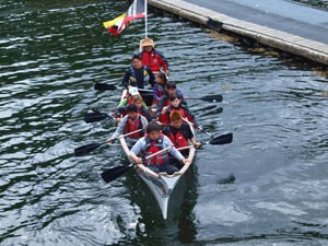 Lach Klan School Students on a Canoe Trip. Source: Gitxaala Nation.