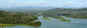 Chagres River flows into Gatun, Panama. Source: Andrew Hendry